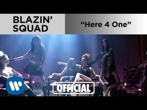 Blazin Squad - Here 4 One (Official Music Video)