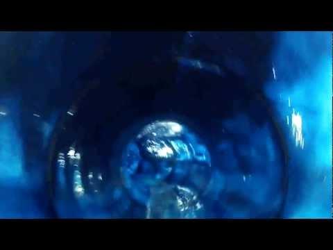"""Discesa nel """"Blue Hole"""" alla piscina di Scandiano -3-"""