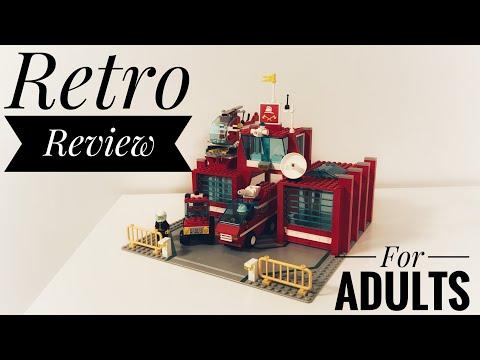 LEGO retro review: set 6389 Fire control center, from 1990
