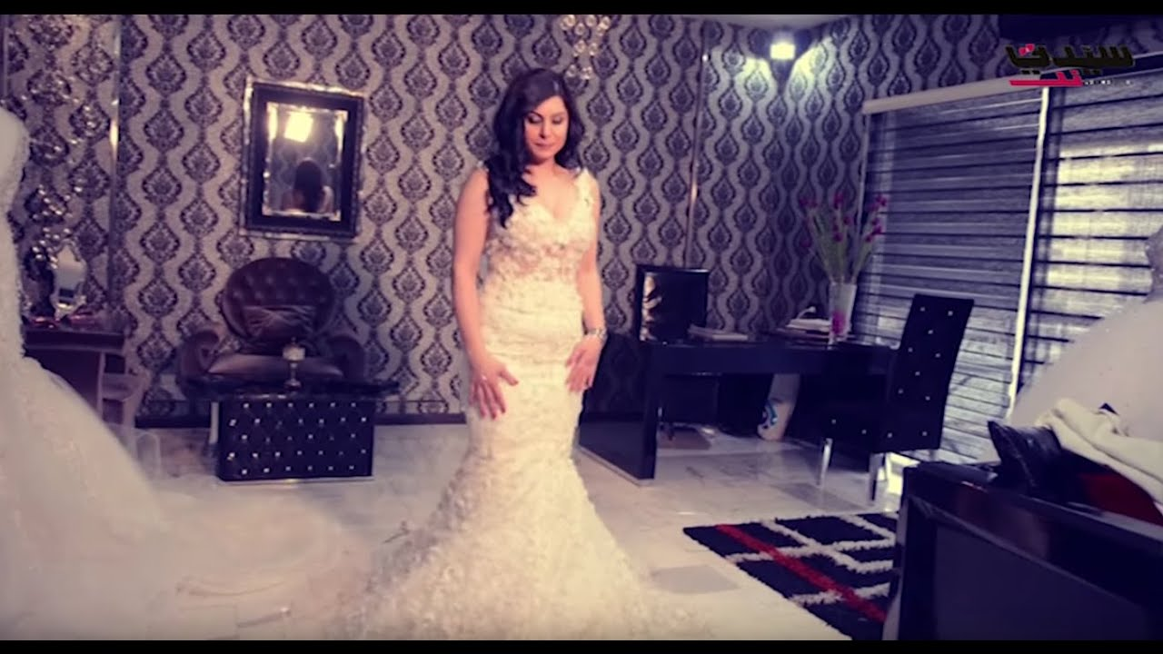 366ab859e يوميات عروس سيدتي : مع مصمم الأزياء لاختيار فستان الزفاف - YouTube