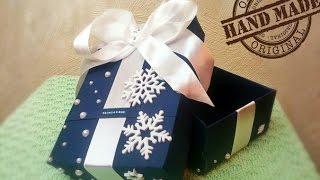 DIY: Как сделать коробочку из картона.(Мой VK: https://vk.com/njasha89 Моя группа в VK: https://vk.com/club5908271 Мой ОК: http://ok.ru/profile/567310845283 Мой Babyblog: ..., 2015-12-22T08:04:25.000Z)