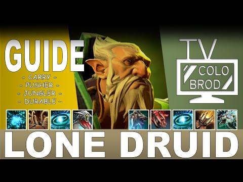видео: dota 2 | lone druid [Гайд] – ТОЛСТЫЙ И СЛАВНЫЙ