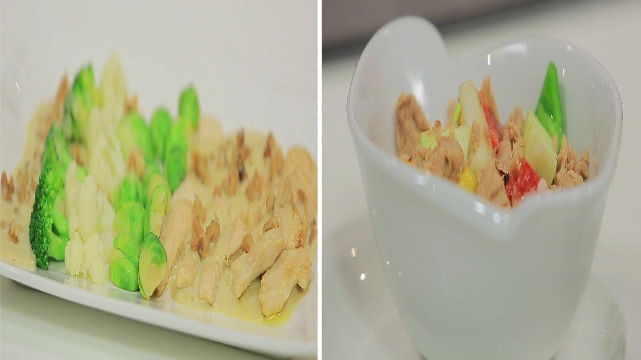 إمانسيه صدور الدجاج بالصوص الأبيض و وصفات أخرى : طبخة ونص الحلقة كاملة