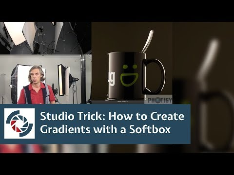 How to Create a Gradient Reflection with a Large Softbox