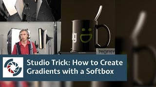 Studio Photography 101: How to create a gradient reflection with large softbox
