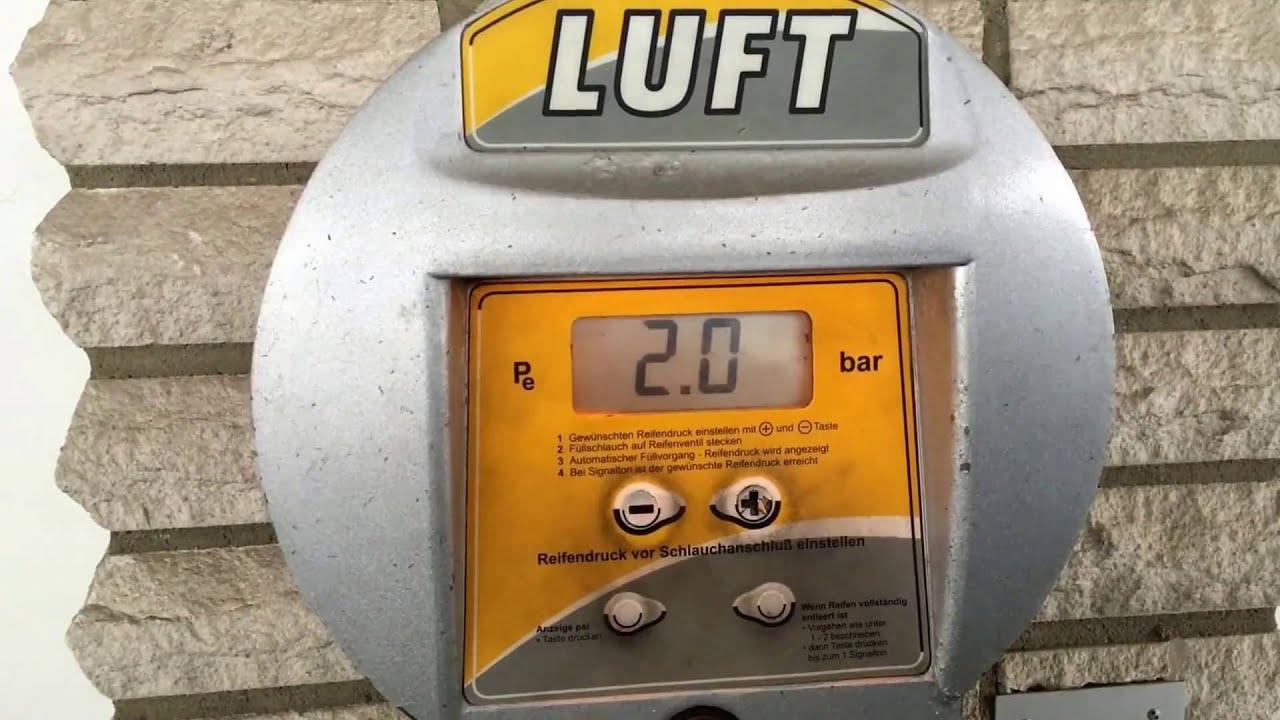 reifenluftdruck pkw reifen luft nachfüllen auto reifen aufpumpen