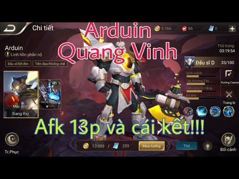 Chơi thử Arduin Quang Vinh ( Trang phục thưởng hạng mùa 12)