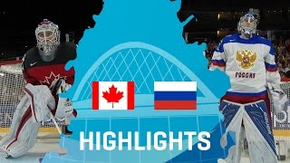Canada - Russia | Highlights | #IIHFWorlds 2017