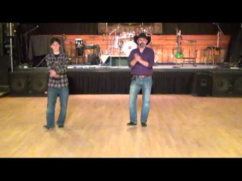 Colorado Girl Line Dance Demo - Dan Albro