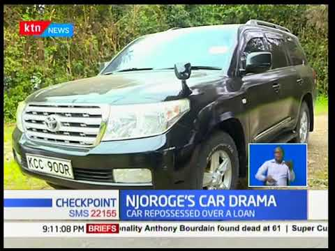 Former Senator Paul Njoroge's car repossessed after failure to pay loan