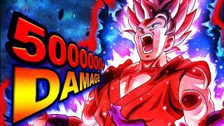 GLOBAL DOKKAN BATTLE FIRST!! SSBKK GOKU IS CRAZY DUMB BUSTED!!