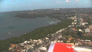 Взлет А 320 Air Asia из Денпасара, Бали