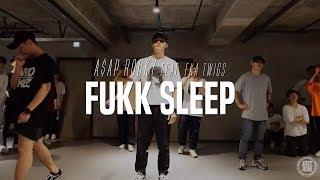 Young-J Class   A$AP Rocky Feat. FKA twigs - Fukk Sleep   Justjerk Dance Academy