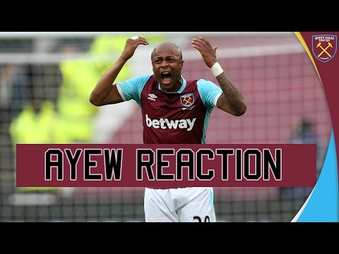 WEST HAM 2-3 LEICESTER: ANDRÉ AYEW  REACTION