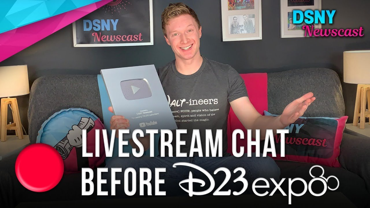 D23 Expo 2019 Livestream: Watch Marvel, Star Wars & More Stream from the Disney Convention