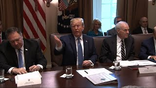Trump on Dem 'squad': They can't hate our country