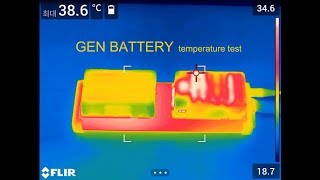 GEN ENERGY   battery temperature test