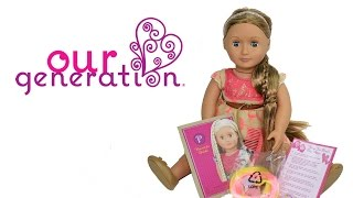 Our Generation Hair Play Portia Doll Unboxing Review