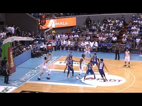 Blatche No Look Passes to Aguilar!   SEABA 2017