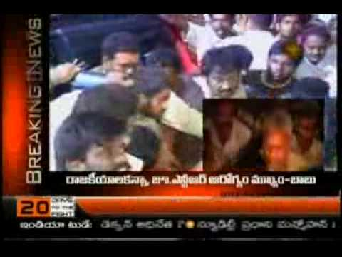 JR NTR MET WITH ACCIDENT NEAR SURYAPET