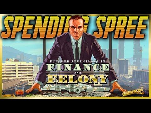 GTA 5 DLC UPDATE FINANCE AND FELONY DLC SPENDING SPREE GAMEPLAY (GTA 5 New Update)