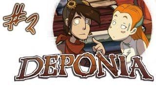 видео Прохождение игры Deponia