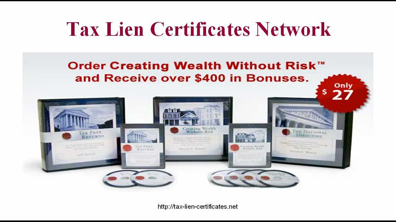 Things You Should Know About Tax Lien Certificates But Probably Don