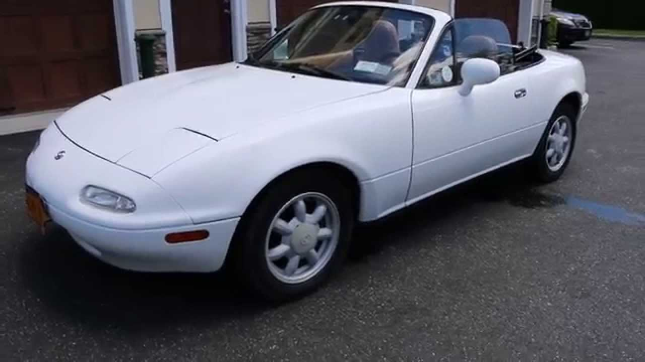 1993 mazda miata mx5 for ~low miles~5 speed~custom stereo~only