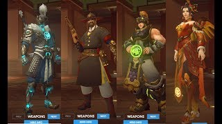 Overwatch Year of the Dog New Skins, Highlight Intros, Emotes