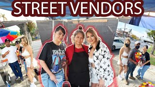 GIVING BACK TO OUR LOCAL STREET VENDORS