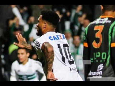 Gol de Kazim, Coritiba 3 x 0 América-MG - Série A 03/10/2016