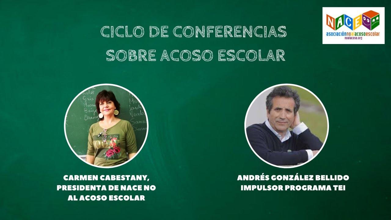 NACE No al Acoso Ciclo conferencias semana contra acoso escolar: Andrés González