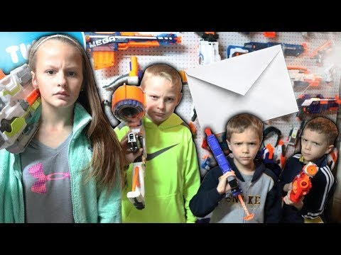 Nerf War:  Mail Time Mayhem 30 Big Announcement