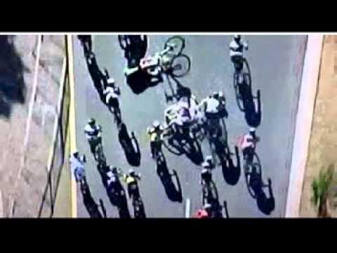 Cape Argus Cycle Tour 2012 crashes