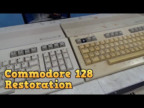 Commodore 128 Complete Restoration and Board Repair  - YouTube