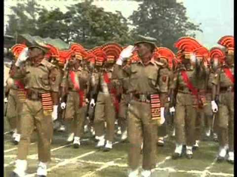 Full dress rehearsal of Independence Day function held in Bakshi stadium Srinagar
