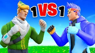 So I 1v1'd Ninja in Fortnite...