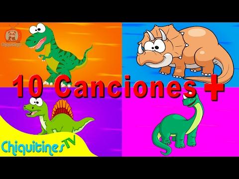 Veo Veo Dinosaurios y 10 Canciones Más - Canciones Infantiles