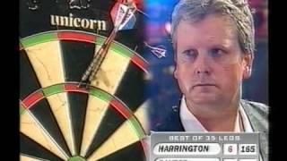 Rod Harrington vs Ronnie Baxter - 1998 World Matchplay - Finals - Part 5/18