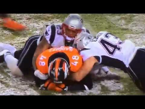 Cody Latimer forced fumble, Shaquil Barrett fumble recovery on punt 11-29-15
