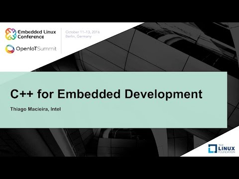 C++ for Embedded Development