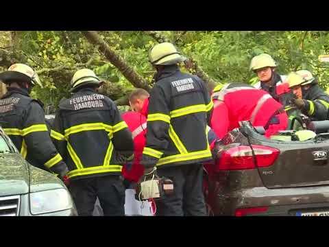 """Stuhia """"Xavier"""", viktima nga moti në Gjermani e Poloni - Top Channel Albania - News - Lajme"""