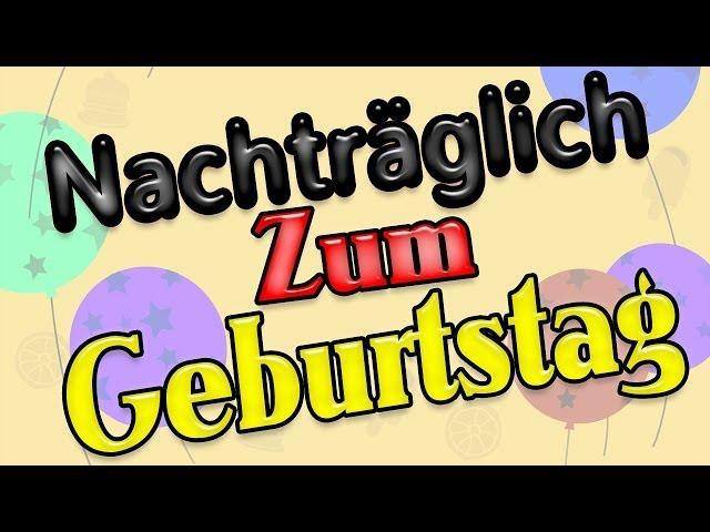 Nachtraglich Alles Gute Zum Geburtstag Per Whatsapp Tippsundtricks Net