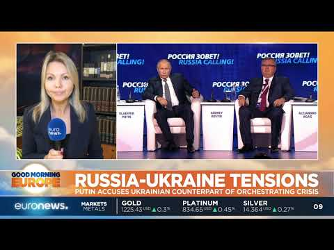 Vladimir Putin accuses Petro Poroshenko of orchestrating the Kerch Crisis | #GME