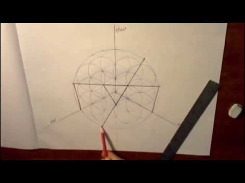A PERFECT Nonagon with Compass and Straight Edge? - YouTube