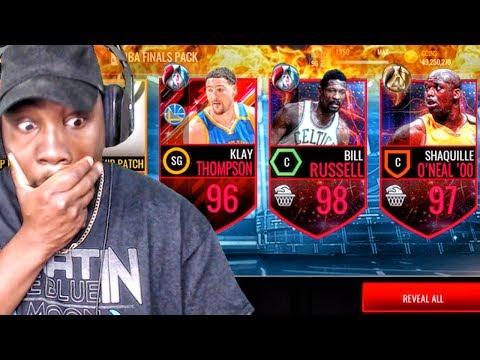 EPIC NBA FINALS PACK OPENING & FINALS MASTER ELITES! NBA Live Mobile 16 Gameplay Ep. 121