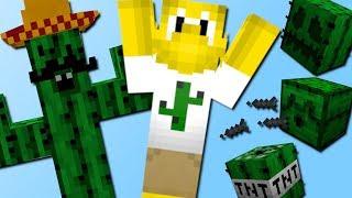 Alles wird zum Kaktus Mod! (mit Kaktus TNT, Kaktus Rüstung, Kaktus Schaf) - Mod Vorstellung