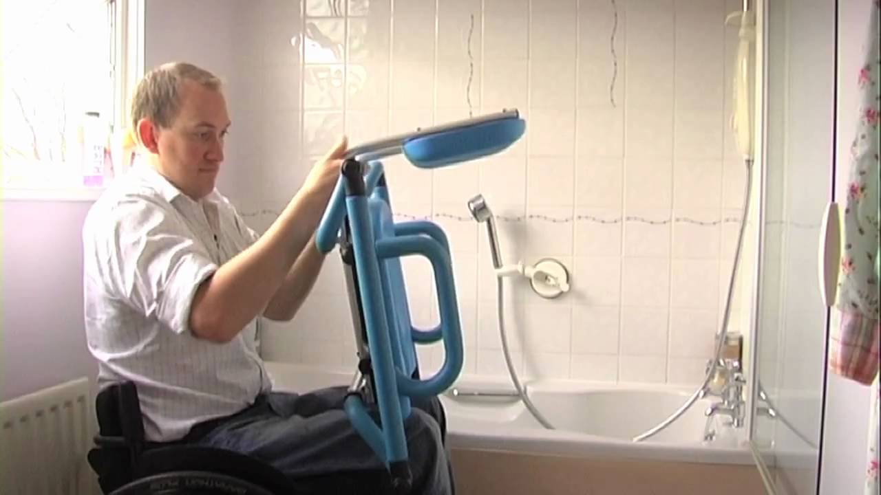 Travel bath seat.mov - YouTube