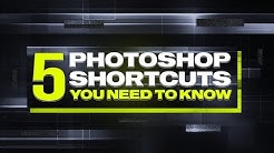 5 Photoshop Shortcuts That Every Graphic Designer Should Know!