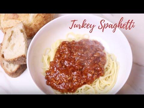 Turkey Spaghetti   Cooking W/ Cayla